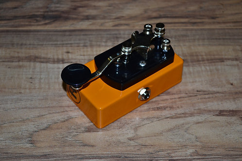 CopperSound Pedals Telegraph Stutter Candle Orange