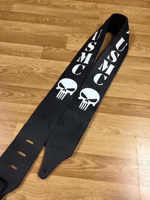 "Carlino Custom USMC Punisher Strap 3.1"""