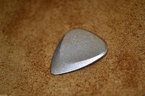 Fusion Tones Anodized Pick, silver