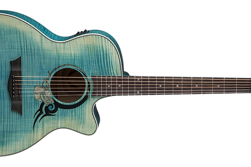 Dean Exotica Series Exotic Tribal Rose Denim