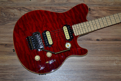 Sterling by Musicman AX4 Red Quilt