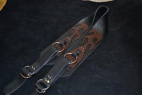 Carlino Gladiator Kodiak Oiled Strap Black