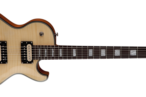 Dean Import Thorobred DLX Gloss Natural Flame top