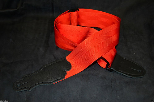 Franklin 0-OR-BK Orange Seatbelt Strap