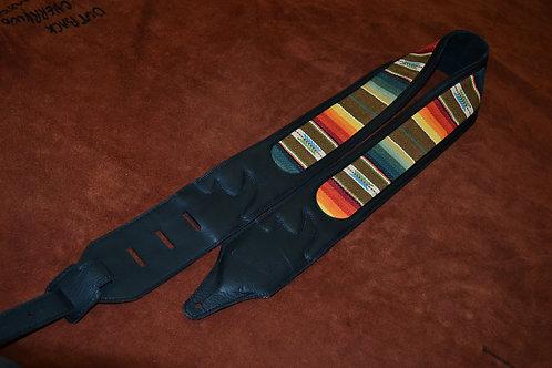 Carlino Santa Fe Leather Guitar Strap