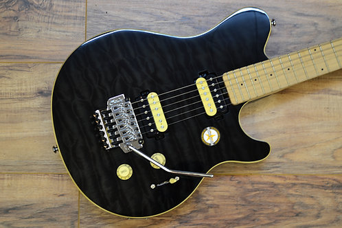Sterling by Musicman AX4 Black Quilt