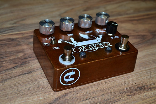 CopperSound Pedals Foxcatcher OD and boost