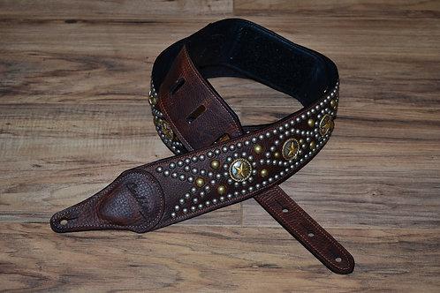 Carlino Western Star Concho Swirl Strap