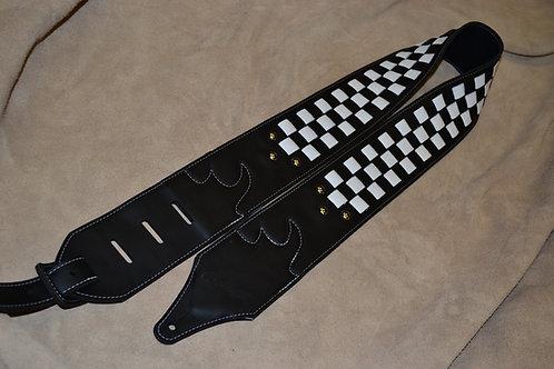 Carlino Custom Leather Checkerboard Strap