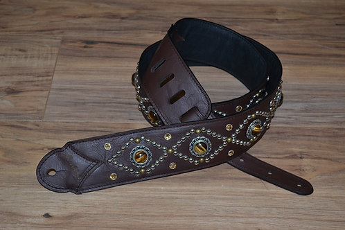 Carlino Orianthi TigerEye Collection Guitar Strap