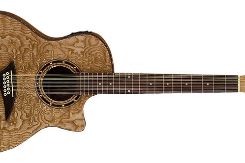 Dean Exotica Series Exotic Quilted Ash 12 String