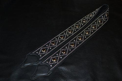 Carlino Custom Diamond Patterned Studded Strap