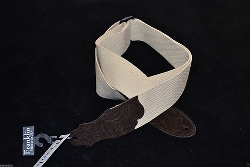 Franklin 1-N-ECH Tooled Cotton Strap
