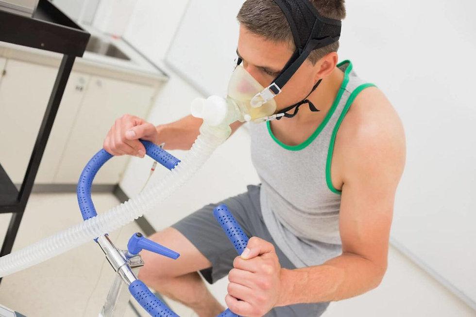 Trainen met zuurstof