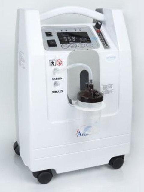 Angelbiss 5Ltr/min Zuurstof Concentrator & Medicijn vernevelaar.