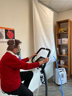Zuurstoftherapie EWOT versterkt spierkracht en conditie.