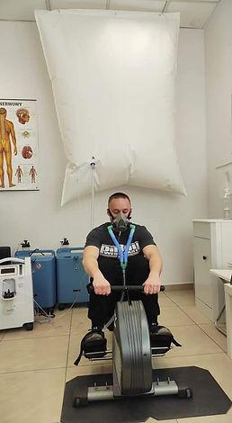 Een EWOT zuurstofsessie van 15 minuten is voldoende om de voordelen te ervaren van een verhoogde zuurstofconcentratie.