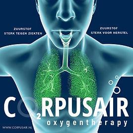 Gezond zijn en beter worden, zuurstoftherapie EWOT Corpusair.nl
