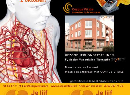 START 1e DEMO CENTER BEMER THERAPIE Nederland