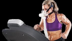 Zuurstoftherapie E.W.O.T. is trainen met een zuurstofmasker op, voor preventie, een sterk immuunsysteem en sneller herstel van klachten.