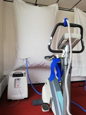EWOT zuurstoftherapie verbetert doorbloeding en verhoogt zuurstopconcentratie in het lichaam.