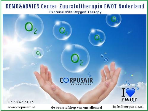 DEMO&ADVIES CENTER EWOT ZUURSTOFTHERAPIE CORPUSAIR.NL