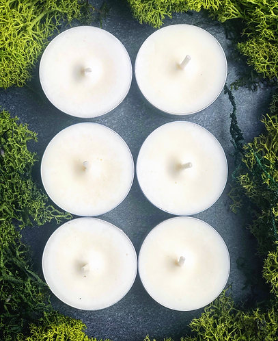 Unscented | Soy Tealight Candle Set
