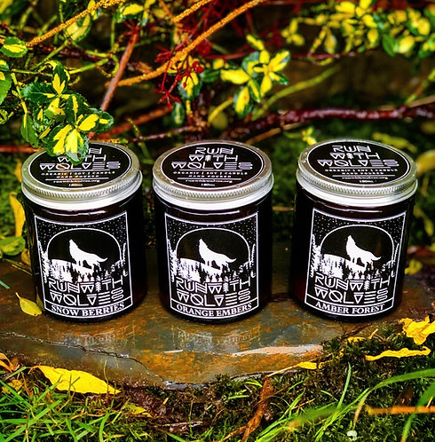 Gift set of 3 candles 180ml candles