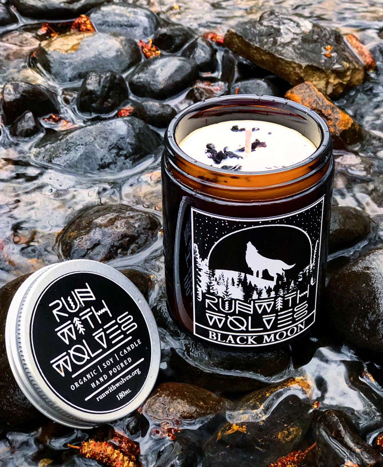 Natural Soy Candles | Run with Wolves