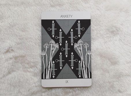 Nine of Candles (Anxiety)