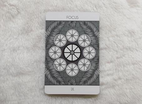 Nine of Wheels (Focus)