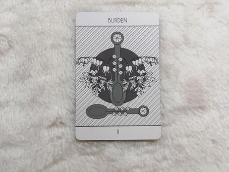 Two of Spoons (Burden)