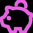 ブタの貯金箱の線画アイコン.png