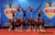 Superstars Supreme Heel Stretch Pyramid for Level 2 Cheerleading