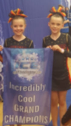 Grand Champions Superstars Cheerleading, Stunt and Dance Berkshire Mini Athletes ages 6-8yrs