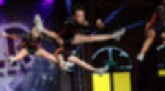 Superstars Toe Touch Jump Cheer Dance