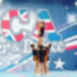SuperstarsCheer Senior Level 2 Front Heel Stretch Lib Stunt Group and Cheerleading