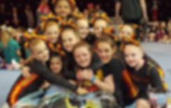 Berkshire National Champions Superstars Cheerleading, Stunt and Dance at CheerSport Wales Natinoals 2017 Youth 1 Cheer