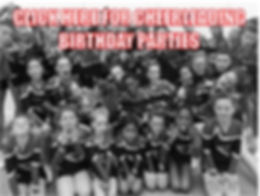 Cheerleading and Dance Birthday Parties in Berkshire with Superstars