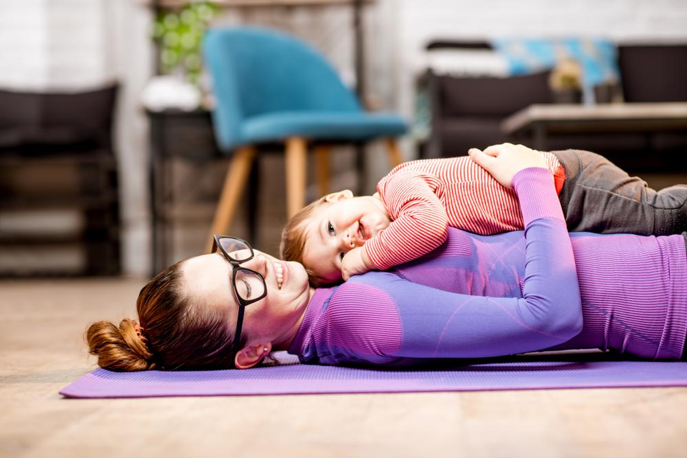 ejercicios con bebés