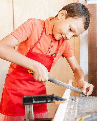 manualidades con madera niños