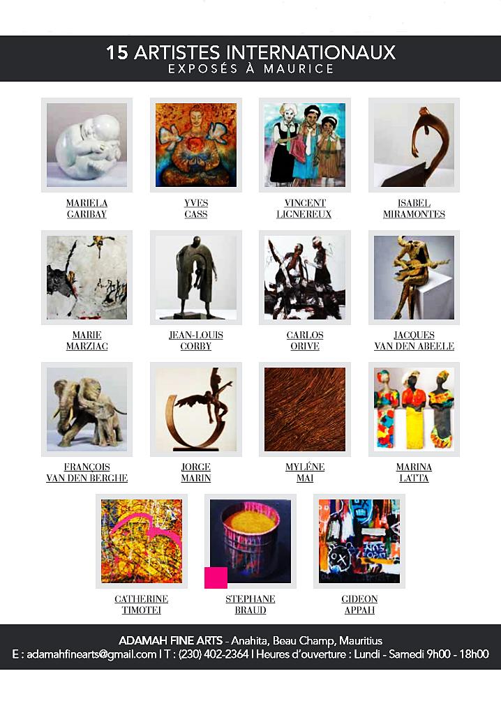 Galerie Adamah Fine Arts,Ile Maurice