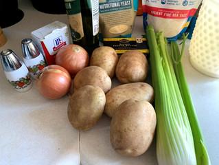 Grandma's Potato Soup, Story and Recipe