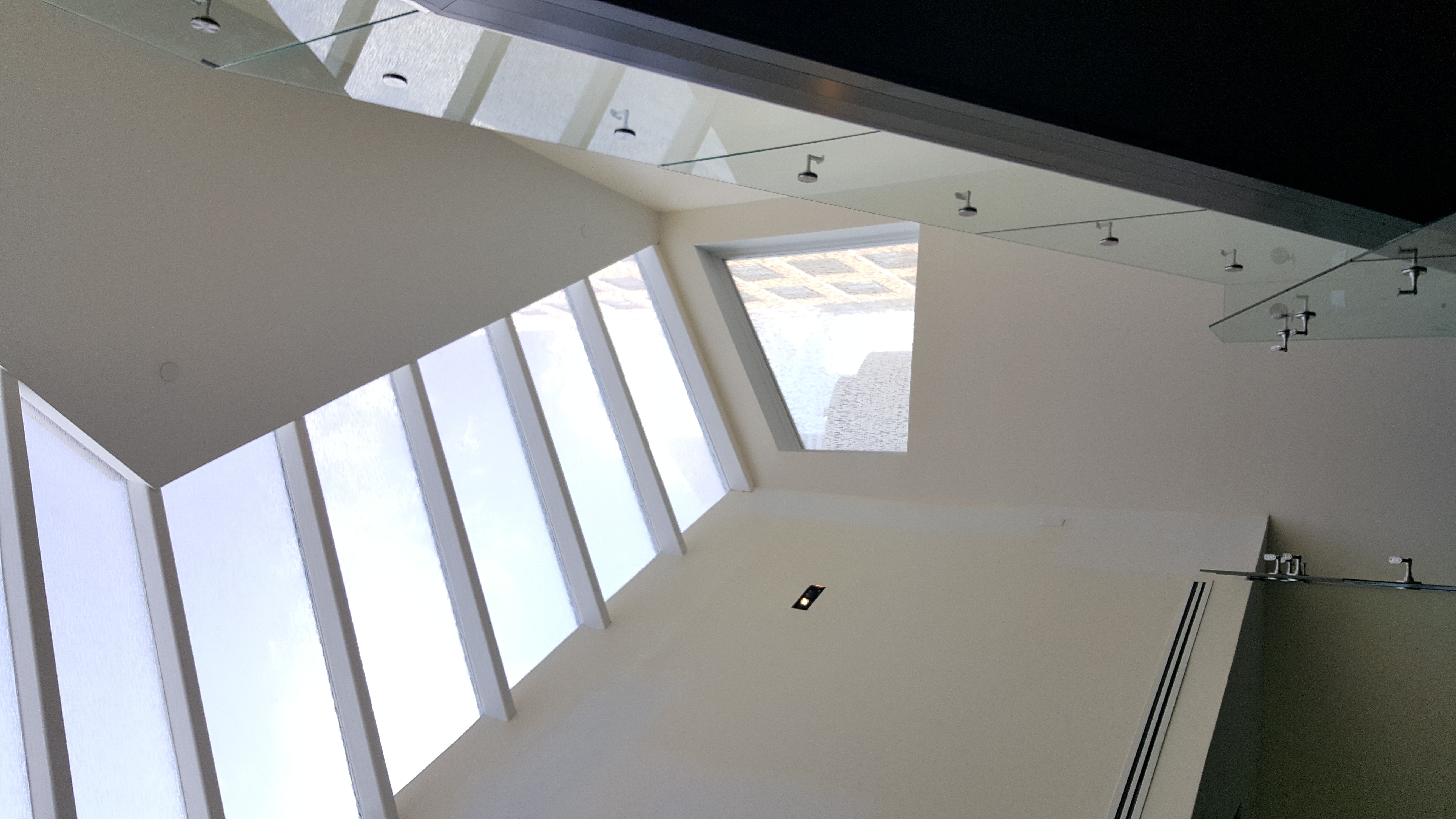 Custom Skylight Over Grand Staircase