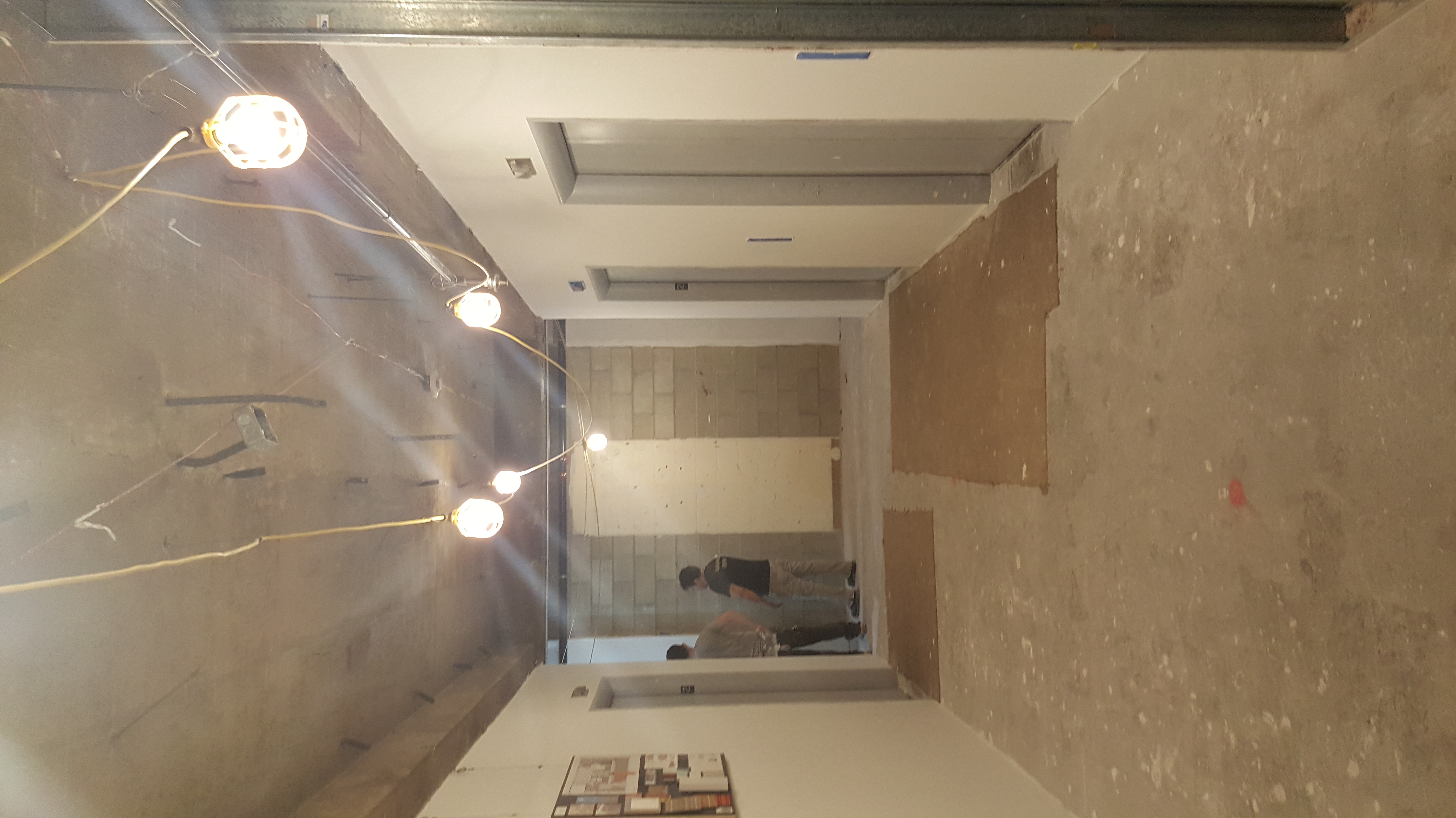 Entry Lobby Under Construction