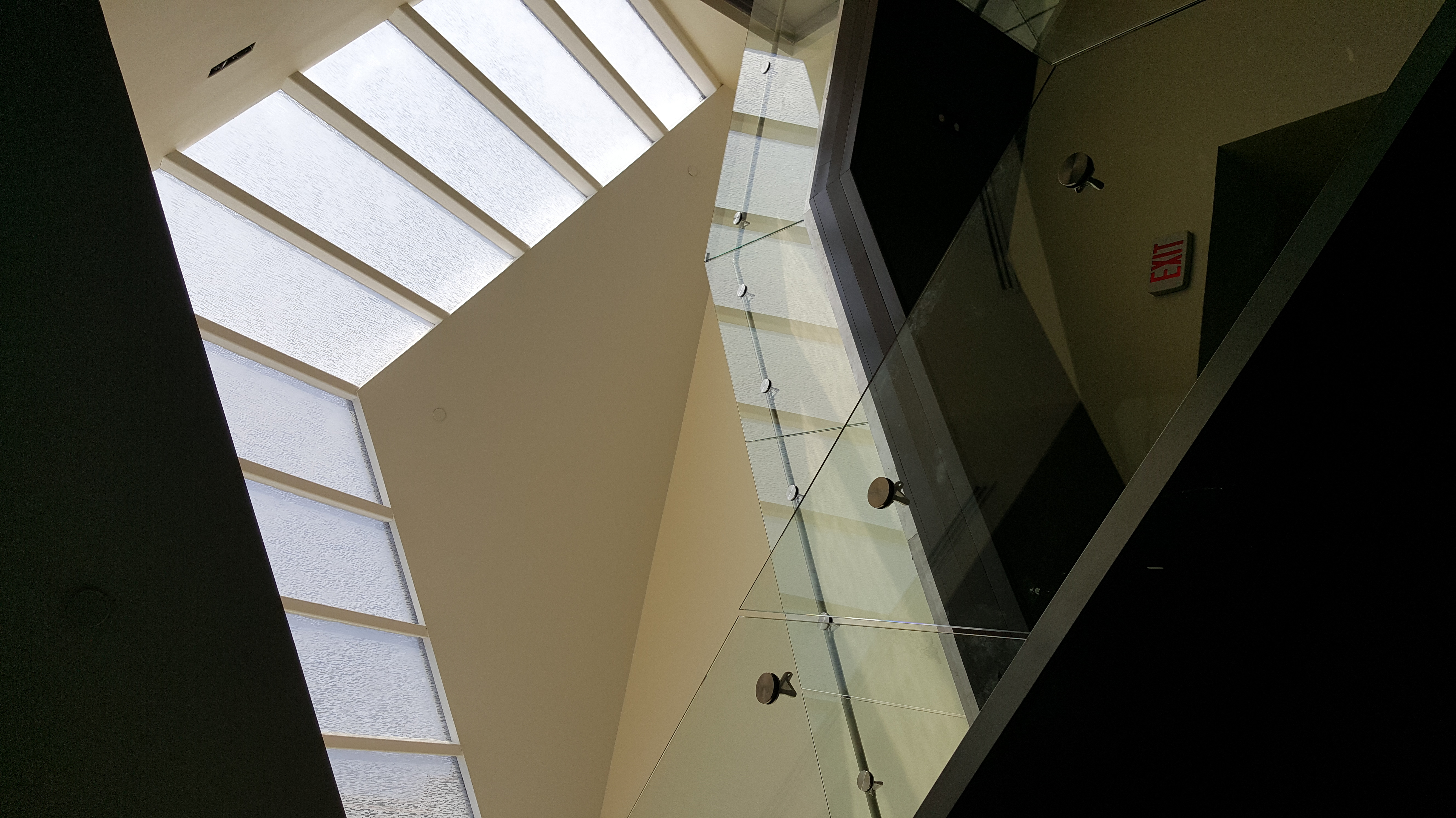 Completed Grand Staircase & Skylight