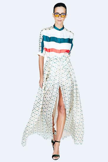 Royal Maxi Skirt