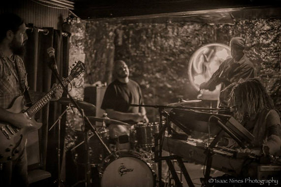 L to R: Bryan Newman, Jon Morse, Robert Pickett, Dana Newman. Photo Courtesy of Sean Casini of Isaac Nines Photography