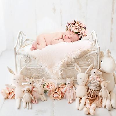 Camryn Elaine Young Newborn