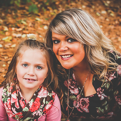 Mommy and Daughter Fall Mini Session 2018